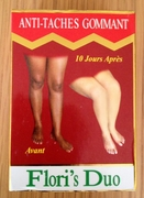 Flori's Duo Anti-Taches Gommant Serum and Lotion LIGHTENING OF DARK KNUCKLES TOES KNEES ELBOWS
