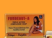 FUNBEAUT A TRIPLE ACTION COMPLEXION SOAP 80g