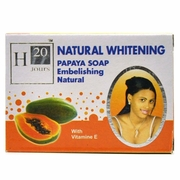 H20 Jours Natural Whitening Papaya Soap 225g