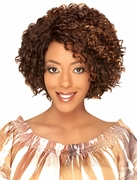 Hollywood SiS Synthetic Invisible Top Part Wig Natural Jerry