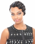 Janet Collection 100% Human Hair H.H MOMMY II WIG (REMY)