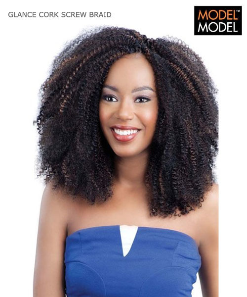 Crochet Braids Corkscrew : model-model-glance-braid-cork-screw-crotchet-braid-14.jpg