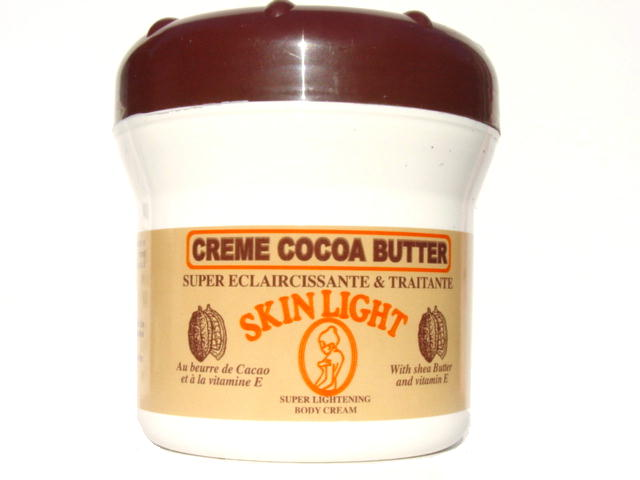 Cocoa butter lighten skin
