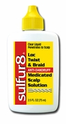 Sulfur8 Loc Twist & Braid Anti-Dandruff Medicated Scalp Solution - 2.5 oz