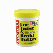 Sulfur8 Loc Twist & Braid Butter - 4oz jar
