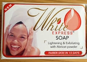 White Express Lightening Exfoliating Soap 7oz