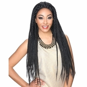 Zury Hollywood Sis Afro Braid Lace Front Wig BOX 30 INCHES