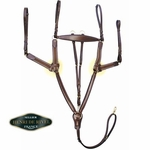 5 Point Elastic Breastplate with Running Attachment