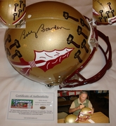 Bobby Bowden Hand Signed/Autographed Florida State Seminoles Full Size Authentic Proline Football Helmet