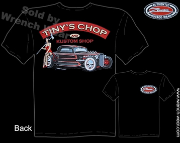 33 34 Ford Shirt 1933 1934 Coupe Hot Rod T Shirt  Tiny's Chop Pin Up Wear