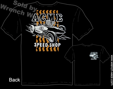 ACME Speed Shop Apparel Hot Rod T Shirts Tiki Tee Belly Tank