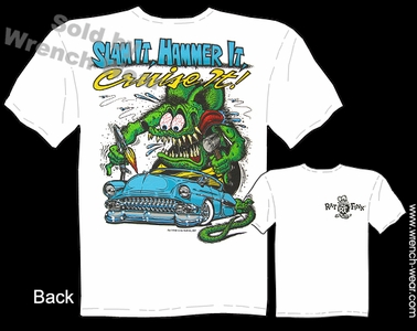 Big Daddy Shirt Rat Fink Tshirt Cruise It 54 Chevy 1954 Custom Car Tee