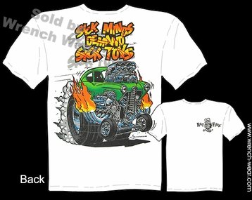 Big Daddy Shirt Sick Minds Demand Sick Toys Henry J Gasser Ed Roth Ratfink Tee