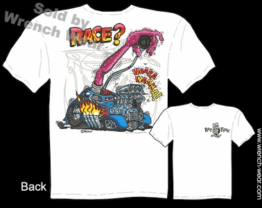 Rat Fink Tee Shirts Race? Big Daddy T Shirt Ed Roth Clothing Hot Rod Wear