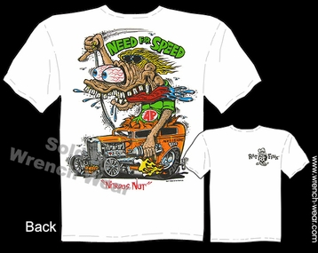 Big Daddy T Shirts Rat Fink Shirt 32 Ford 1932 Sedan Need For Speed Tee