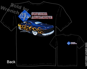 Custom Car Tshirt 49 50 51 Ford Tee 1949 1950 1951 Automotive Clothes