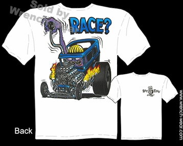 Ed Roth T Shirt Rat Fink Shirts Race? Drag Nut Big Daddy Clothing 30 31 Ford