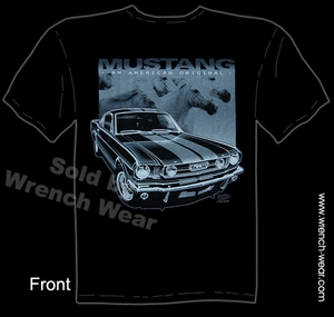 Ford Mustang Shirt 64 65 66 American Original Fastback T Shirt 1964 1965 1966
