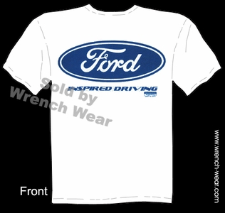 Ford Shirt Blue Oval Tee Inspired Driving Performance T Shirts