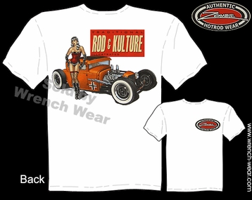 Ford T Shirts 1930 1931 Hot Rod Tees 30 31 Coupe Rod & Kulture Pin Up Shirt