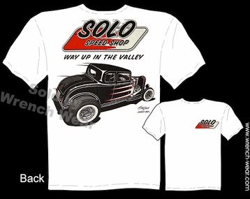 Ford Tshirt 1932 Hot Rod Tee 32 Solo Speed Shop Clothing Vintage Car Shirts