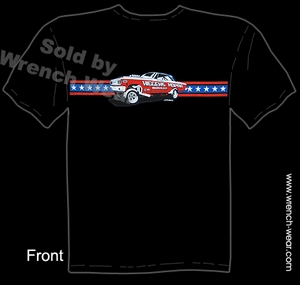 Higgens Mopar Apparel Hemi Shirts Vintage Drag Racing Tee Muscle Car T Shirt