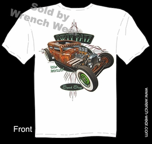 Hot Rod Apparel 30 31 Vintage Ford T Shirts 1930 1931 Rat Rod Tudor Sedan Tee