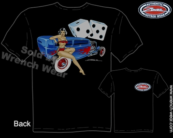 Hot Rod Clothing 1932 Ford Tee 32 Tudor Sedan Vintage Pin Up T Shirts