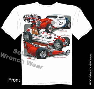 Hot Rod Shirt Vintage Hot Rod T Shirts Speed & Glory Racing Heritage Tees