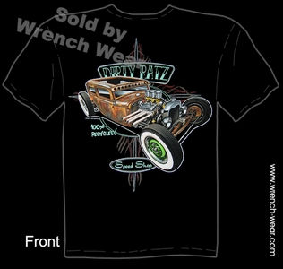 Hot Rod T Shirt 30 31 Sedan Ford Tee 1930 1931 Rat Rod Apparel Tudor