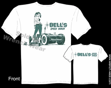 Hot Rod T Shirts Scalloped Rod Ford Shirt Bells Speed Shack Speed Shop Clothing