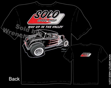 Hot Rod Tee 1932 Vintage Ford T Shirts 32 Coupe Solo Speed Shop Apparel