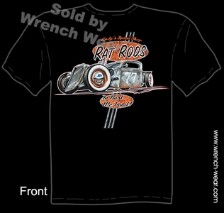 Hot Rod Wear 35 36 Rat Rod T Shirts 1935 1936 Pick Up Clothing Ford Truck