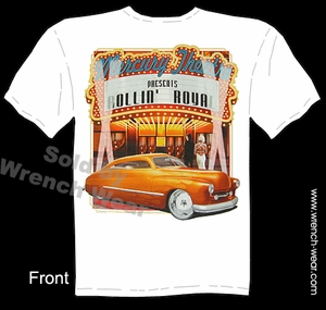 Mercury T Shirt 1949 1950 Custom Car Tee 49 50 Leadsled Automotive Shirts