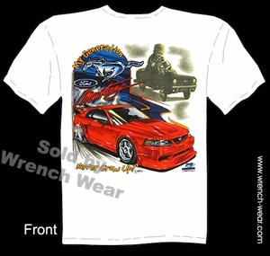 Mustang GT Shirt Ford Tee My Generation Muscle Car T Shirts