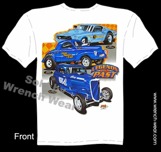 Racing Shirts Vintage Drag Racing T Shirts 1941 Willys Legends Of the Past Tee