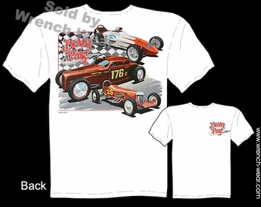 Vintage Drag Racing T Shirt Hot Rod Tee Dragster Clothing Blast From The Past