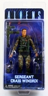 Aliens Neca Sergeant Craig Windrix Action Figure