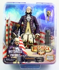 "Bioshock Infinite Concept Figure Neca Motorized Patriot Benjamin Frankling 8"" Action Figure"