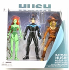 DC Collectibles Hush Poison Ivy, Nightwing & Scarecrow Action Figure 3-Pack