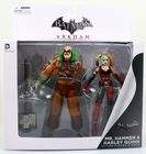 DC Direct Action Figures, Toys & Collectibles Arkham City Mr. Hammer & Harley Quinn Action Figure 2-Pack