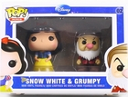 Disney Snow White & Grumpy 2 Pack Funko Minis Figures