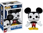 "Funko Pop Disney #01 Mickey Mouse Vinyl 3.75"" Figure"