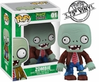 "Funko Pop Games Plants Vs Zombies #01 Zombie Vinyl 3.75"" Figure"