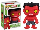 "Funko Pop Heroes Marvel Universe #31 Red Hulk Vinyl 3.75"" Figure"