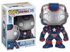 "Funko Pop Marvel #25 Iron Patriot Vinyl 3.75"" Figure"