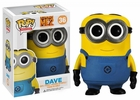 "Funko Pop Movies Despicable Me 2 #36 Dave Vinyl 3.75"" Figure"