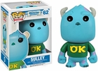 "Funko Pop Movies Monsters Inc 2 #62 Sulley Vinyl 3.75"" Figure"
