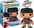 "Funko Pop Rock Band The Beatles Yellow Submarine #28 Paul Mccartney Vinyl 3.75"" Figure"