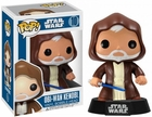"Funko Pop Star Wars #10 Obi Wan Kenobi Vinyl 3.75"" Figure"